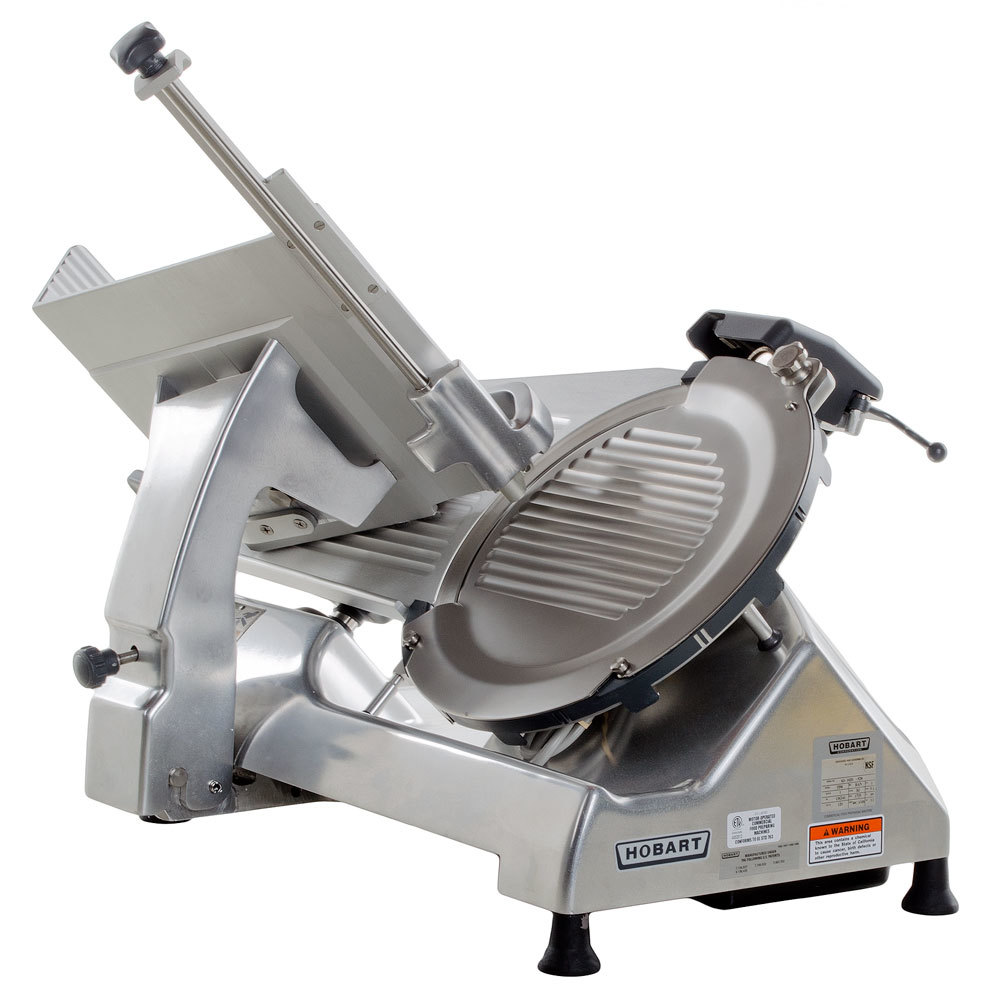 Hobart HS6-1 13 inch Manual Slicer 1/2 hp - Removable Knife