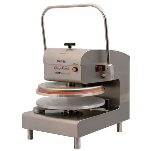 DoughXpress DXM-SS Manual Pizza Dough Press 18 inch