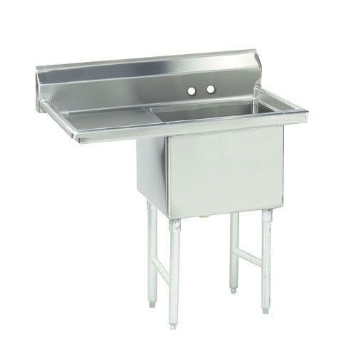 Advance Tabco FC 1 1818 18 e partment Stainless Steel mercial Sink wi