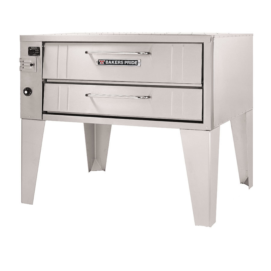 Bakers Pride 151 Pizza Deck Oven Single Deck Gas 36 inch - 48,000 BTU