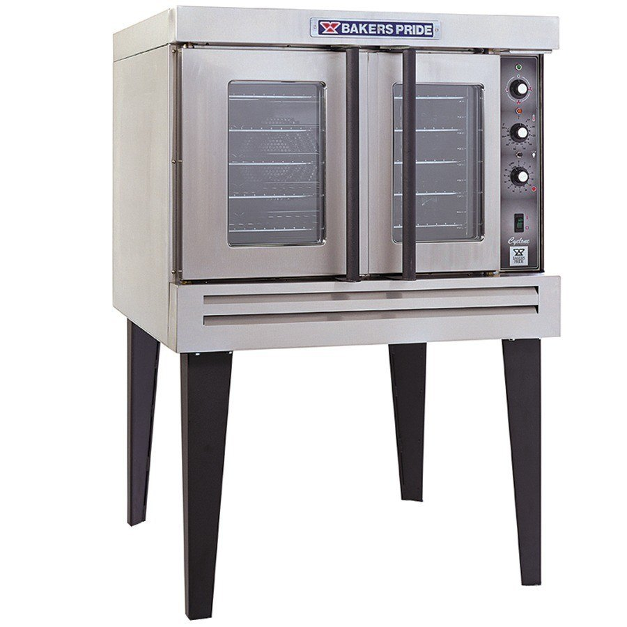 Bakers Pride BCO-G1 Cyclone Series Gas Convection Oven Single Deck - 60,000 BTU