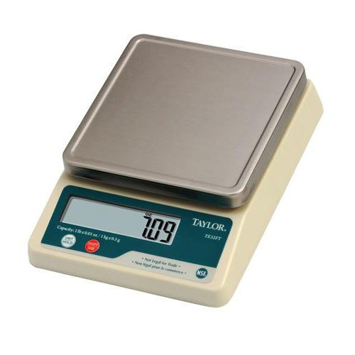 Taylor TE32FT 2 lb. Compact Digital Scale