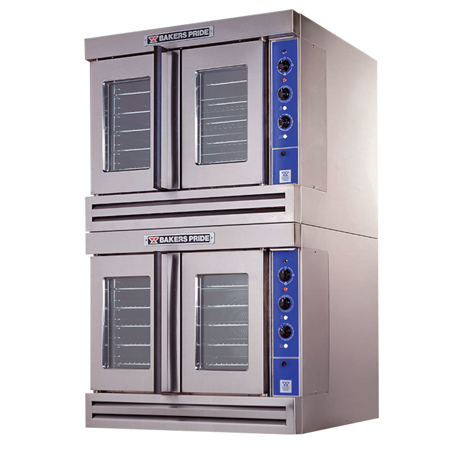 Bakers Pride CO11-G2 Cyclone Series Gas Convection Oven Double Deck - 120,000 BTU
