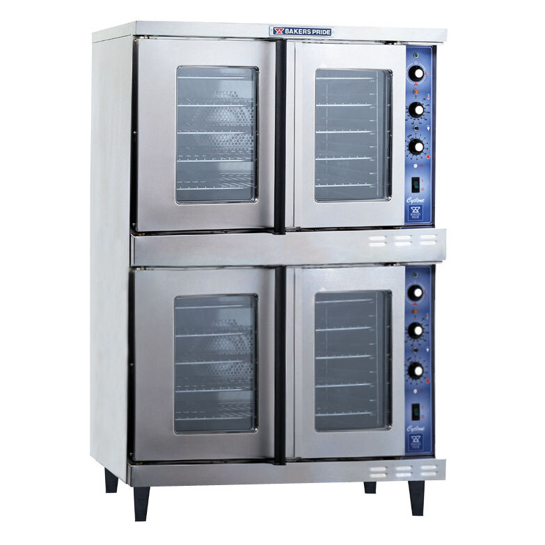 Bakers Pride GDCO-G2 Cyclone Series Gas Convection Oven Double Deck - 120,000 BTU