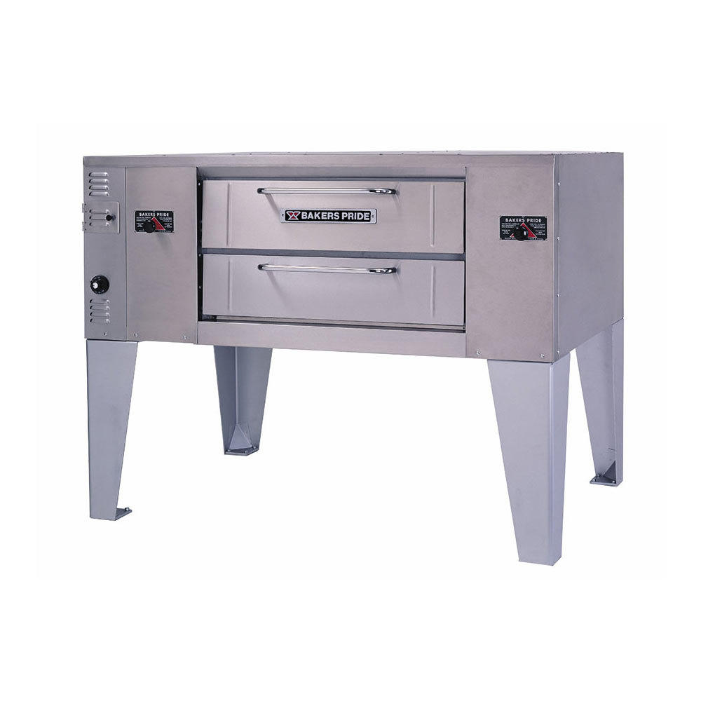 Bakers Pride GS-805 Super Deck Single Deck Gas Pizza Oven - 60,000 BTU