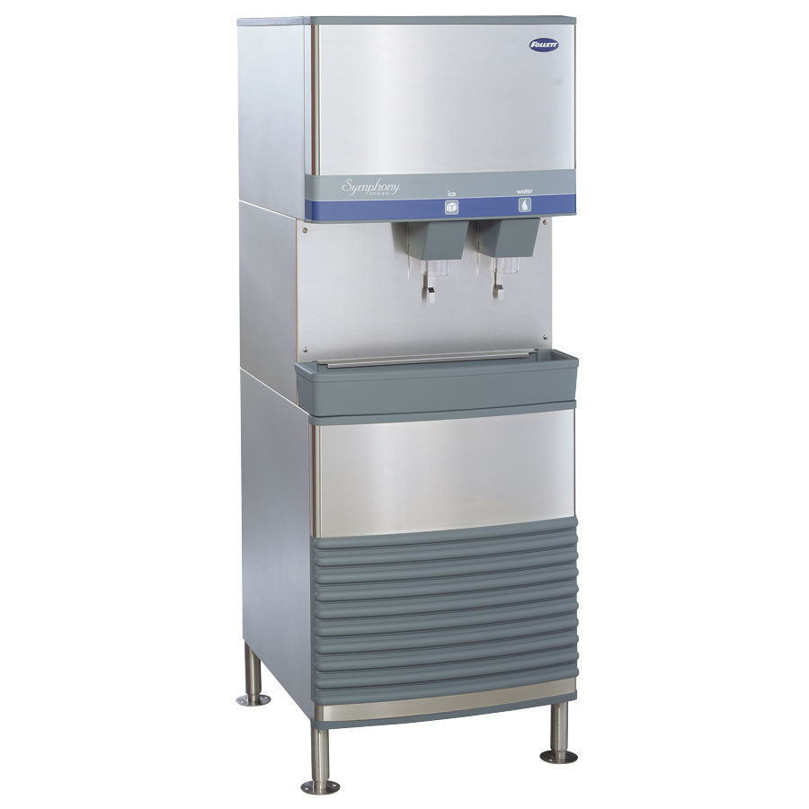 Follett Symphony Ice Maker and Water Dispenser Compressed Nugget Ice ...