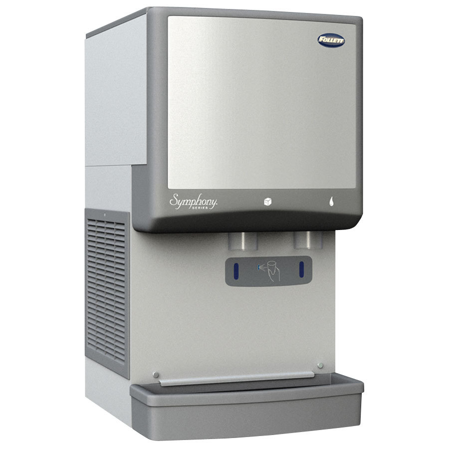 Countertop Ice Maker Soft Ice : Countertop Ice Maker and Water Dispenser Compressed Nugget Ice ...
