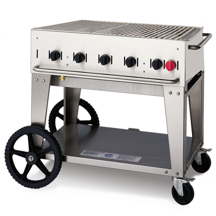 Crown Verity MCB-30 Outdoor Charbroiler - Portable