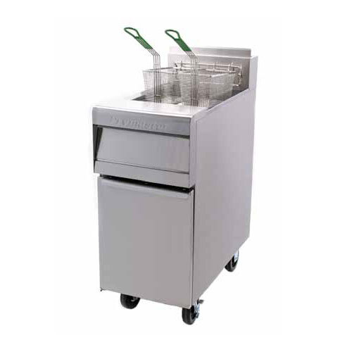 Frymaster MJ45 Gas Floor Fryer 40-50 Pounds