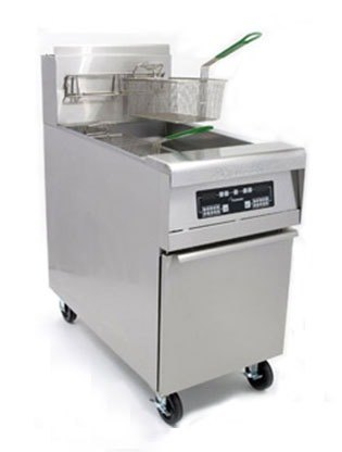 Frymaster MJCFEC-SD Chicken / Fish Fryer 80 Pounds with Computer Magic Controls - 150,000 BTU