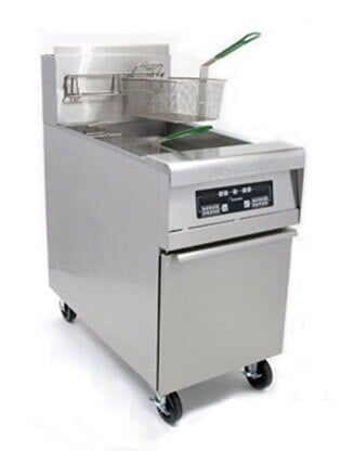 Frymaster MJCFEM-SC Chicken / Fish Fryer 80 Pounds with Melt Cycle - 150,000 BTU