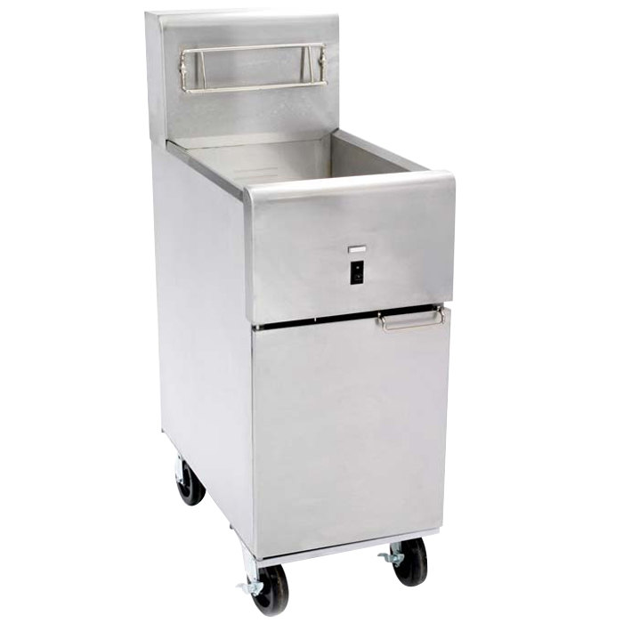Dean SR14E/SR114E Super Runner Economy 40 lb. Electric Floor Fryer