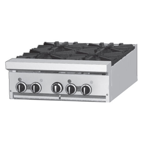 Garland GF24-G24T Modular Top 24 inch Gas Range with Flame Failure Protection and 24 inch Griddle - 36,000 BTU