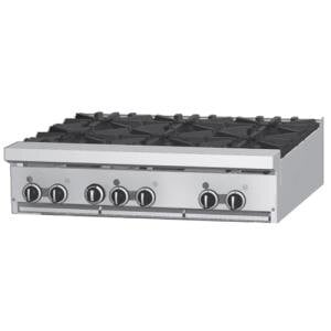 Garland GF36-6T 6 Burner Modular Top 36 inch Gas Range with Flame Failure Protection - 156,000 BTU