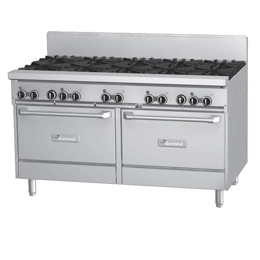 Garland GFE60-6G24RR 6 Burner 60 inch Gas Range with Flame Failure Pro