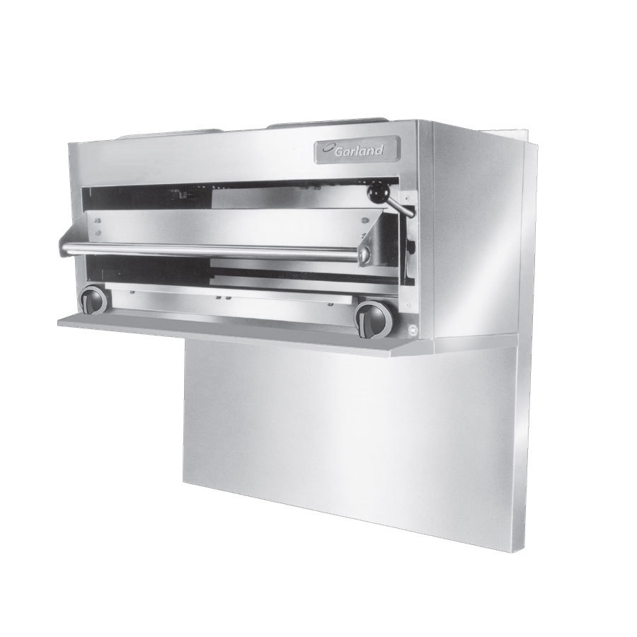 Garland GIR48 35 1/2 inch Range Mount Infra-Red Salamander Broiler for G48 Series Ranges