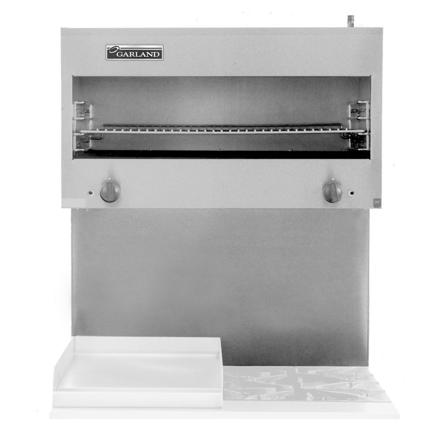 Garland MCM34 34 inch Master Series Range Mount Infrared Cheese Melter - 30,000 BTU