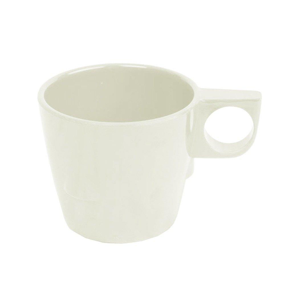 7 Oz Stacking Ivory Melamine Cup 12 Pack 12 Case