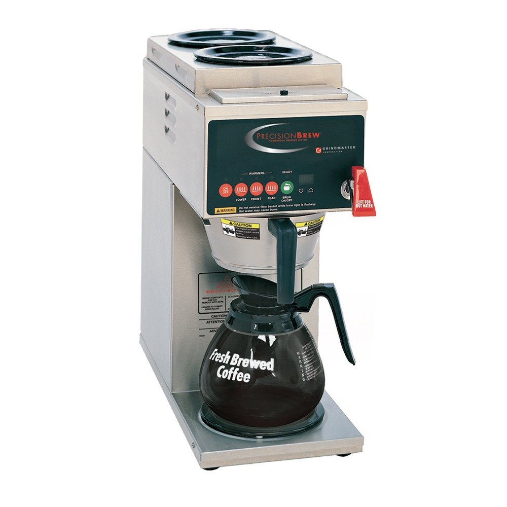Grindmaster B-3 PrecisionBrew Digital 64 oz. Automatic Coffee Brewer with 3 Warmers