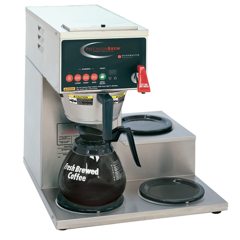 automatic coffee brewer with 3 warmers - Commercial Coffee Makers