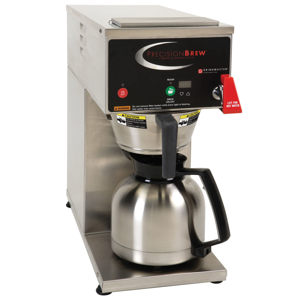 Commercial Coffee Maker ~ Grindmaster b id precisionbrew digital oz thermal