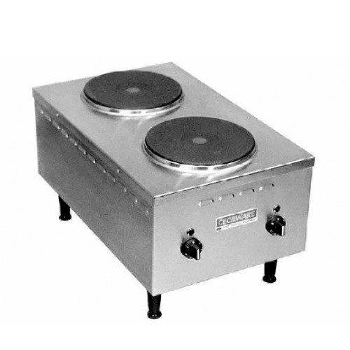 Countertop Stove Images : Cecilware EL24SH 2 Burner Countertop Electric Range