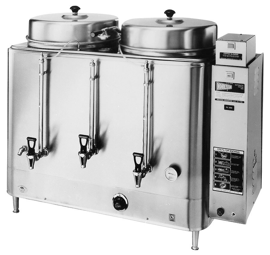 Cecilware FE300 Twin 10 Gallon Automatic Coffee Urn