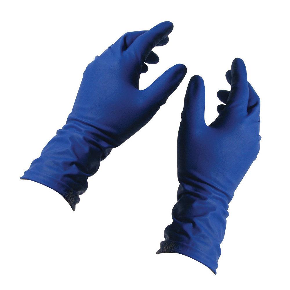 Blue Gloves Latex 42
