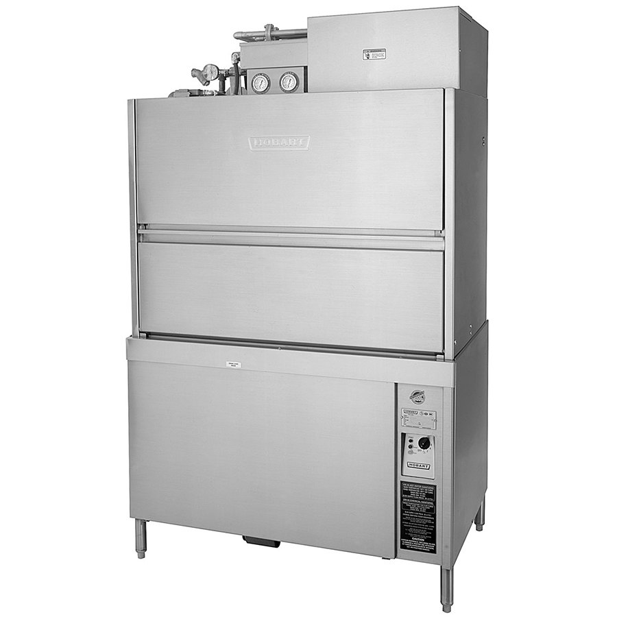 Hobart UW50-11VFC Front Load Utensil / Pan Washer with 14 kW Electric Booster Heater and Vent Fan Control