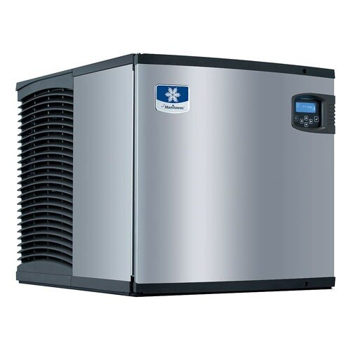 Manitowoc Indigo Series IY-0524A 485 Pound Half Size Cube Ice Machine 22 inch Wide - Air Cooled
