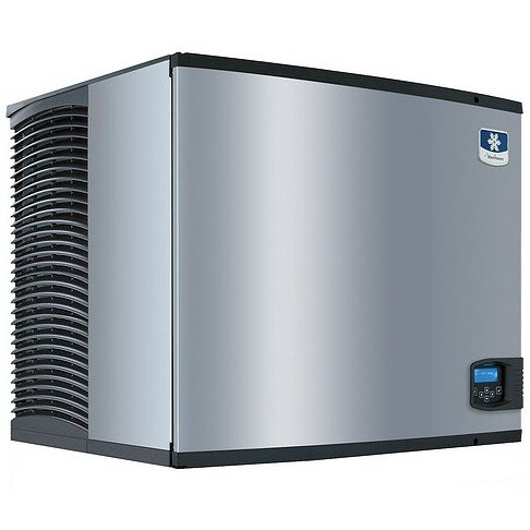Manitowoc Indigo IY-0855W 875 Pound Half Size Cube Ice Machine 30 inch Wide - Water Cooled
