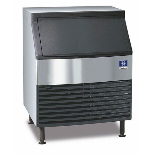 Manitowoc QY-0274A Undercounter Half Cube Ice Machine Air Cooled - 280 lb.