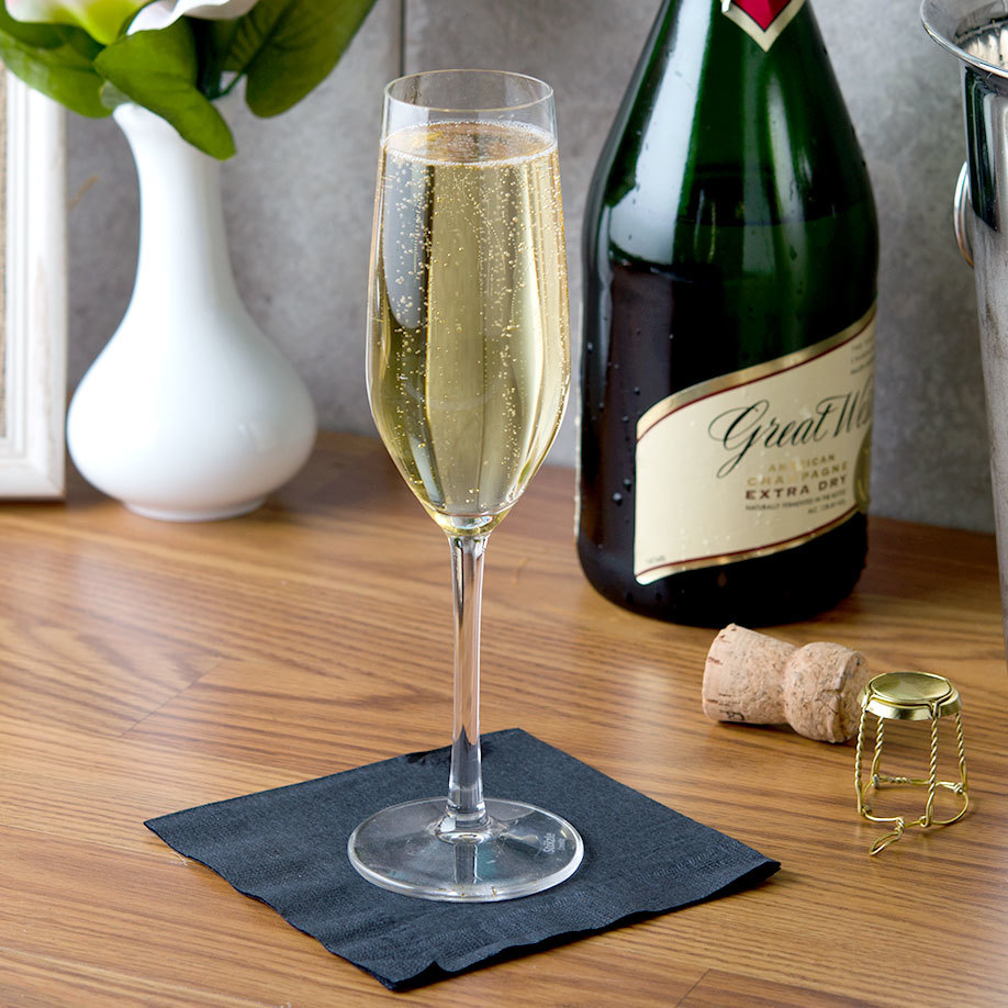 Anchor Hocking Stolzle 1800017T Event 6.5 oz. Champagne Flute - 6/Pack