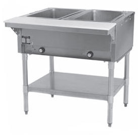 Eagle Group SHT2 Steam Table - Two Pan - Sealed Well