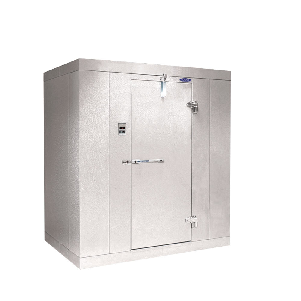 Nor-Lake Step-In Freezer 4' x 6' x 6' 7 inch Indoor