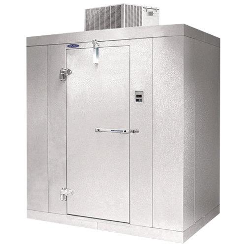 nor lake kold locker 8 x 10 x 7 7 indoor walk in freezer with floor rh webstaurantstore com Small Walk-In Coolers Walk-In Cooler Doors Parts Tyler