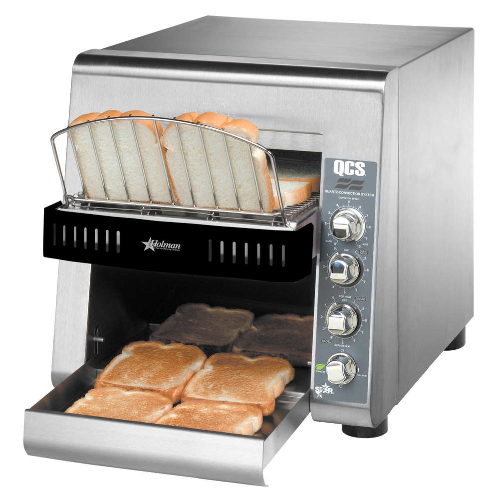 "Star Holman QCS2-800 Conveyor Toaster with 1 1/2"" Opening"