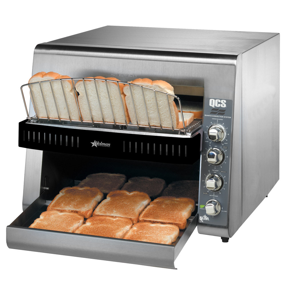 "Star QCS3-1300 Conveyor Toaster with 1 1/2"" Opening"