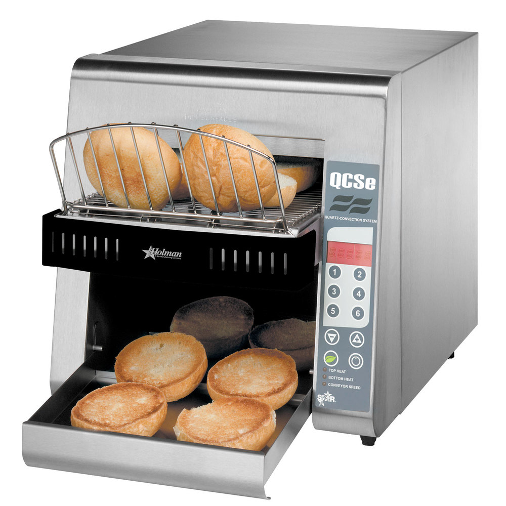 "Star QCSe2-600H Conveyor Toaster with 3"" Opening and Electronic Controls"