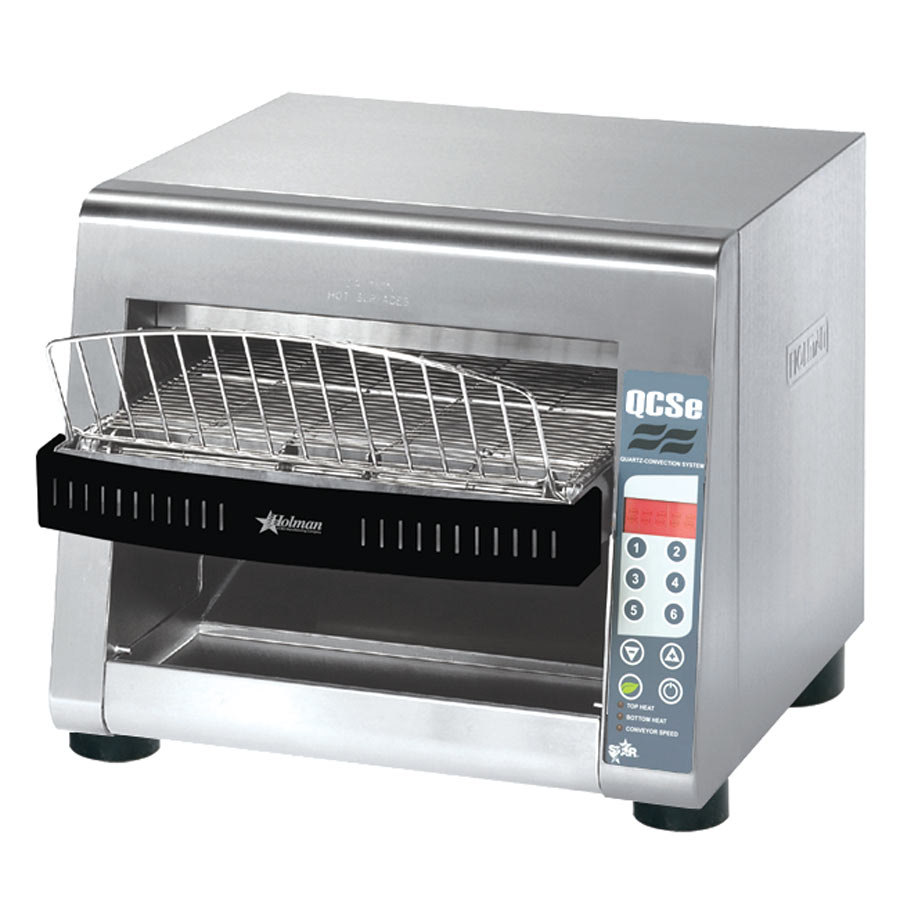 "Star QCSe3-1000 Conveyor Toaster with 1 1/2"" Opening and Electronic Controls"
