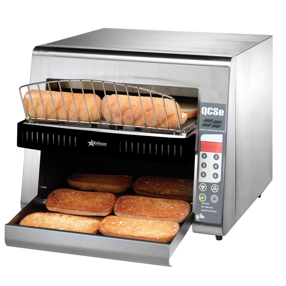 "Star QCSe3-950H Conveyor Toaster with 3"" Opening and Electronic Controls"