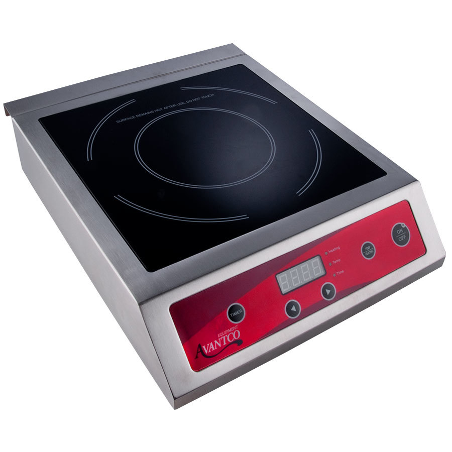 Countertop Induction Stove : Avantco IC3500 Countertop Induction Range / Cooker - 208/240V, 3500 ...