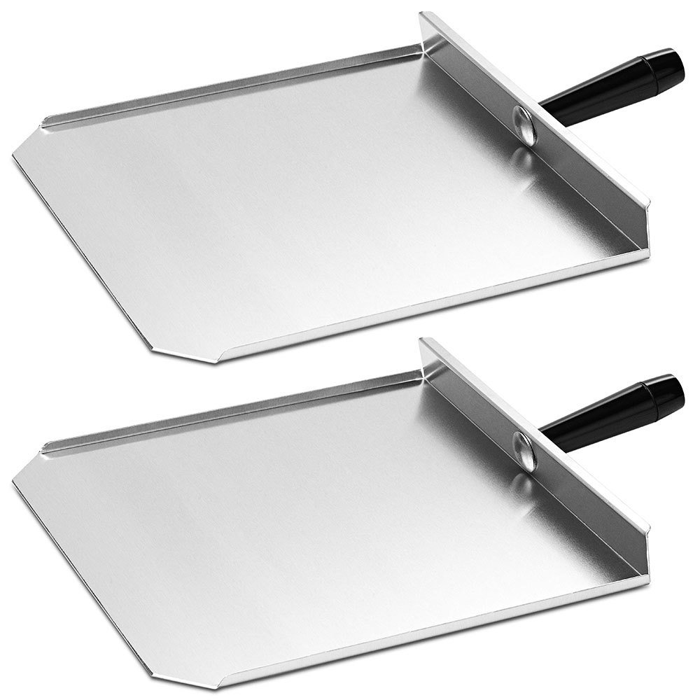 "Merrychef 400P-2 13"" Stainless Steel Paddles for Merrychef eikon e4 and e6 Series Ovens - 2/Pack"