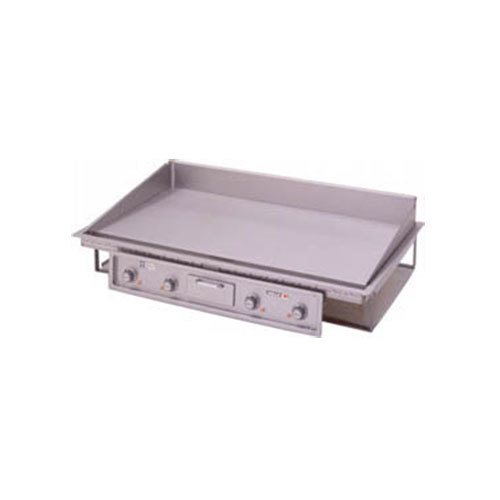 "Wells G-246 Drop-In 49"" Countertop Electric Griddle - 21500W"