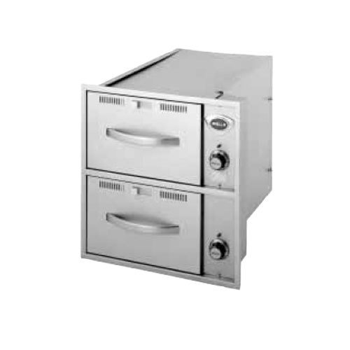 Wells RWN26 2 Drawer Narrow Built-In Warmer