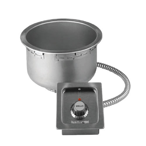 Wells SS10TU 11 Qt. Round Drop-In Soup Well - Top Mount, Thermostatic Control