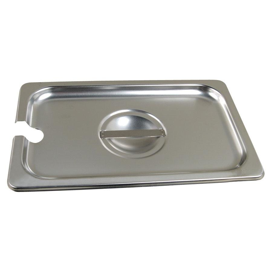 1/4 Size Slotted Steam Table / Hotel Pan Cover