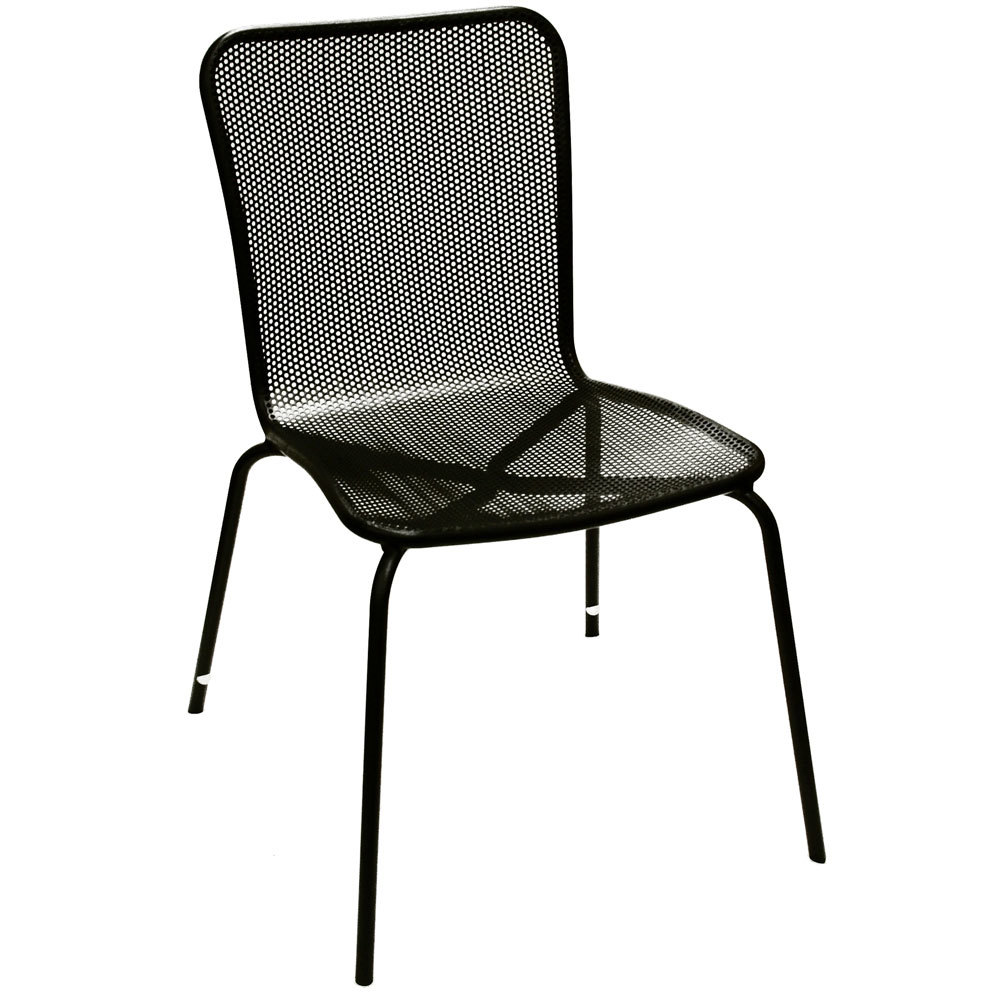American Tables And Seating 92 Black Outdoor Chair