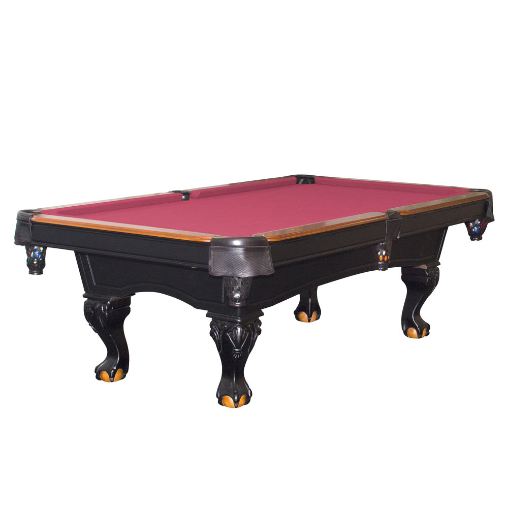 Pooltable with supplies stock images image 19230744 pool tables billiard - Billiard table accessories ...