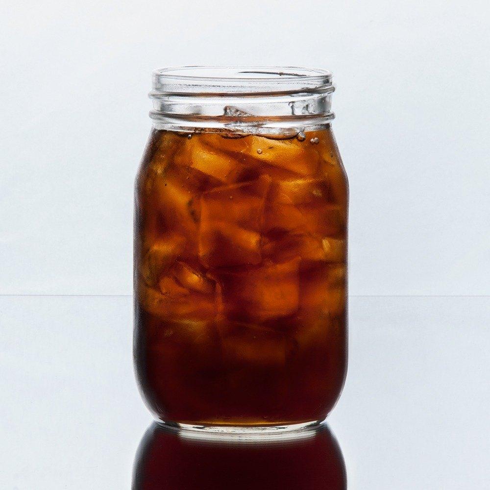 Libbey 92103 glass drinking mason jar without handle 16 oz 12 case - Mason jar goblets ...
